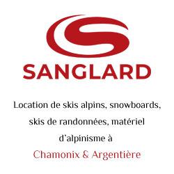 Sanglard Sports, location de matériel de ski, snowboard, skis de randonnées à Chamonix, Argentière, Vallorcine